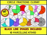 CIRCLE FRACTIONS CLIPART - 90 IMAGES!! - OK FOR COMMERCIAL USE