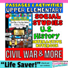 CIVIL WAR & More- Social Studies INTERACTIVE NOTEBOOK #3