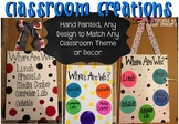 "CLASSROOM CREATIONS - ""WHERE ARE WE?"" CLASSROOM DOOR SIGNS"