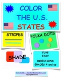 COLOR THE STATES