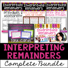 COMMON CORE ALIGNED 4.OA.3 Interpreting Remainders Bundle