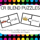 CR Blend Puzzles ~ 21 Puzzles Plus Follow Up Activities