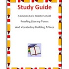 CRCT Middle School Reading Study Guide
