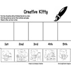 CREATIVE KITTY ORDINAL NUMBERS 1ST-5TH