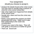 CSI Case Files