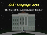 CSI: Language Arts Game: Powerpoint for SmartBoard