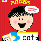 Reading Puzzlers Stick Kids Workbook: Kindergarten
