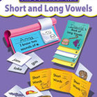Short And Long Vowels, Build-A-Skill Instant Books (Enhanc
