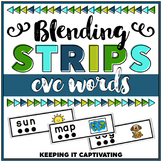 CVC Blending Word Strips