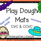 CVC & CCVC Play Dough Mats