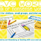 CVC Real / Nonsense Words