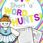 CVC Short 'a' Word Hunts & Activities {32 pages - No prep!}