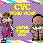 CVC Word Work Pack
