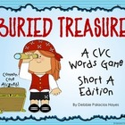 "CVC Words: ""Buried Treasure!"" Game - Short A Words Edition (CCSS)"