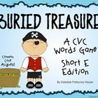 "CVC Words: ""Buried Treasure!"" Game - Short E Words Edition (CCSS)"