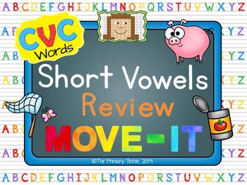CVC Words MOVE IT!