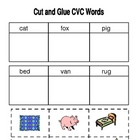 CVC Worksheets-Kindergarten/First