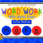 CVCe Task Cards {Word Work with AlphaCaps}