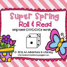 CVCe/CVVC Long Vowel Super Spring Roll & Read