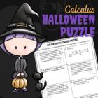 Calculus Halloween Puzzle Review