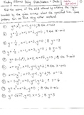 Calculus : Volumes of Revolution