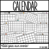 Calendar - Add Your Own Events