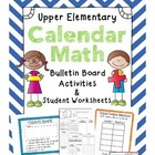 Calendar Math Activities & Daily Student Worksheets