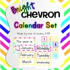 Calendar Set - Bright Chevron