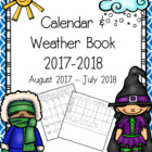 Calendar and Weather Book (School Year 2013 - 2014)