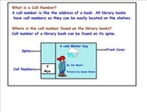 Call Numbers of Fiction Books | Library Skills | Informati