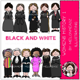 Callie's Women in History 1 bundle by Melonheadz black and white