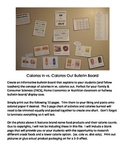 Calories In vs. Calories Out Bulletin Board