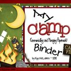 Camp Organizational Binder Set