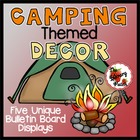 Camp Read Smore Decor for Classroom or Library Media Center