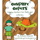 Campfire Capers - Centers for Math and Literacy