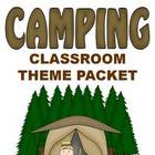 Camping Classroom Theme - Back to School