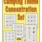 Camping Concentration Set