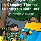 Camping Kiddos - A Camping Themed Literacy and Math Unit