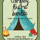 *CAMPING THEME CLASSROOM DECOR BUNDLE!!*
