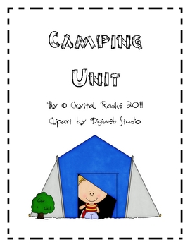 Camping Theme Literacy & Math Center Activities