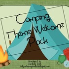Camping Theme Welcome Pack