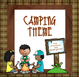 Camping Theme for Preschool and Kindergarten