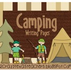 Camping Writing Packet
