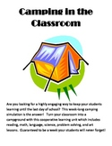Camping in the Classroom - A Simulation for Grades 3-6