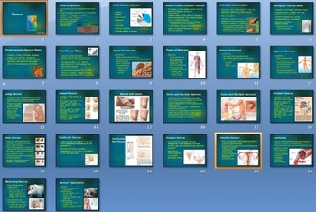 Cancer Smartboard Notebook Presentation Lesson Plan