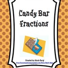 Candy Bar Comparisons - Fractions