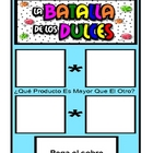 Candy Battle Greatest Product Multiplication Game (Spanish