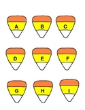 Candy Corn ABC cards