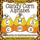 Candy Corn Alphabet