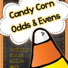 Candy Corn Odds & Evens - Odd and Even Math Center